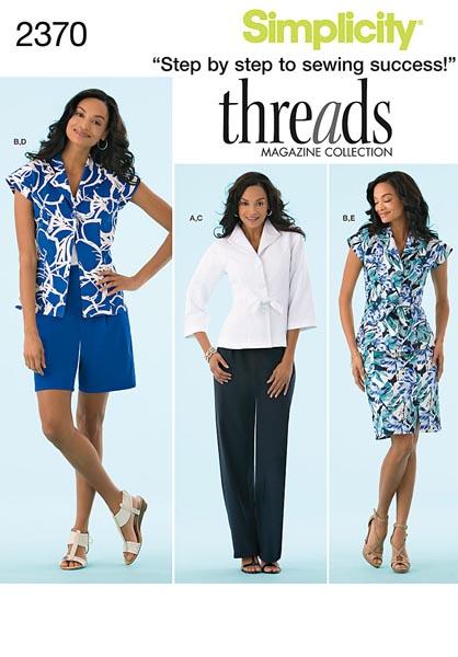 Simplicity Misses' / Miss Petite Sportswear 2370