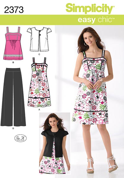 Simplicity Misses' Sportswear 2373
