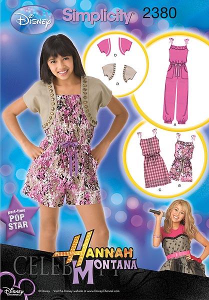 Simplicity Girl's Sportswear 2380