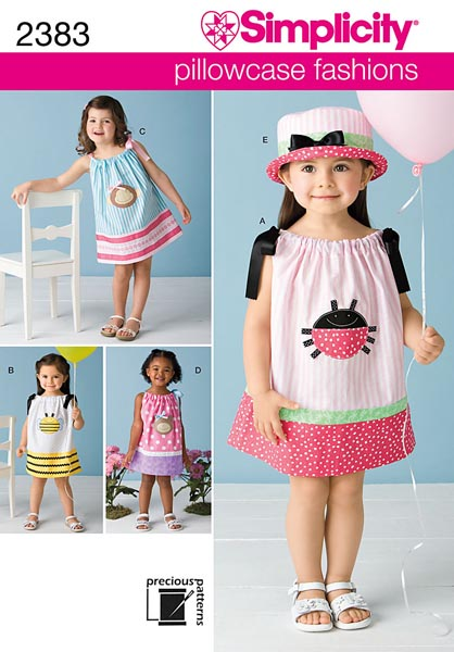 Simplicity Toddlers' Dresses 2383