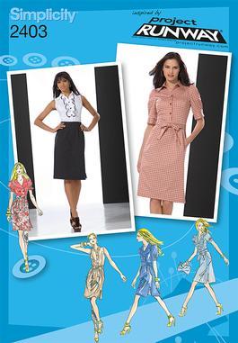 Simplicity Misses Dresses 2403