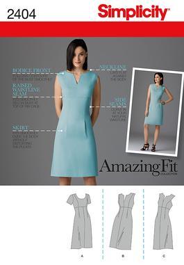 Simplicity Misses Dresses 2404