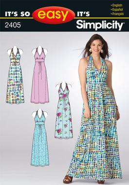 Simplicity Misses Knit Dresses 2405