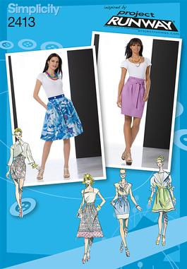 Simplicity Misses Skirts 2413