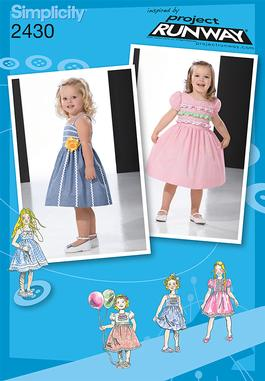 Simplicity Toddler /Child Dresses 2430