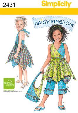 Simplicity Child's Dresses 2431