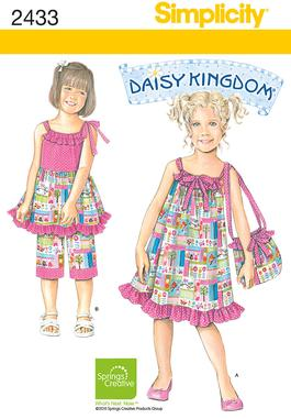 Simplicity Child's Dresses 2433