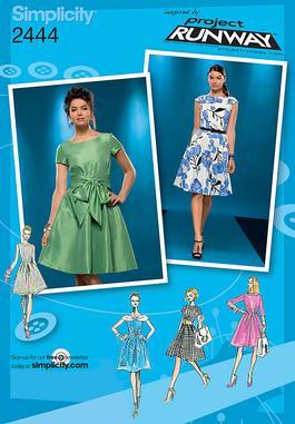 Simplicity Misses' Dresses 2444