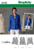 Simplicity 2446 Pattern ( Size 6-8-10-12-14 )