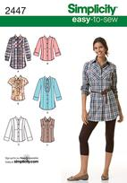 Simplicity 2447 Pattern ( Size 6-8-10-12-14 )