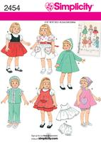 Simplicity 2454 Pattern( Size ALL )