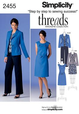 Simplicity Misses' Sportswear 2455