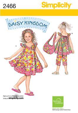 Simplicity Child's Sportswear 2466