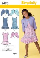 Simplicity 2470 Pattern ( Size 8 )