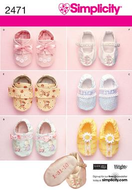 Simplicity Baby shoes 2471