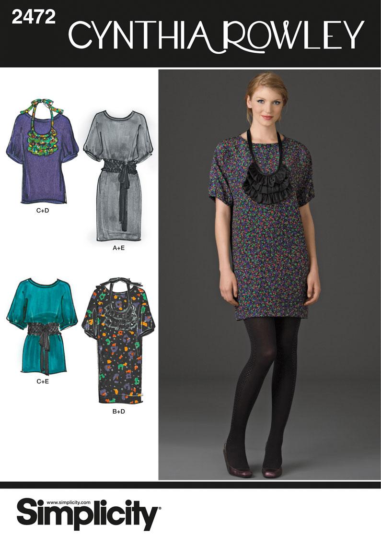 Simplicity Misses Dresses 2472