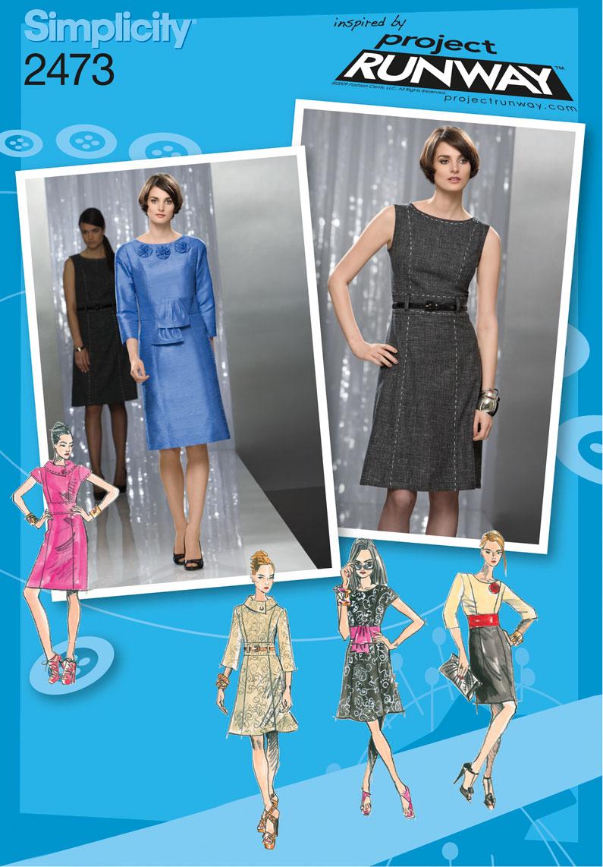 Simplicity Misses Dresses 2473