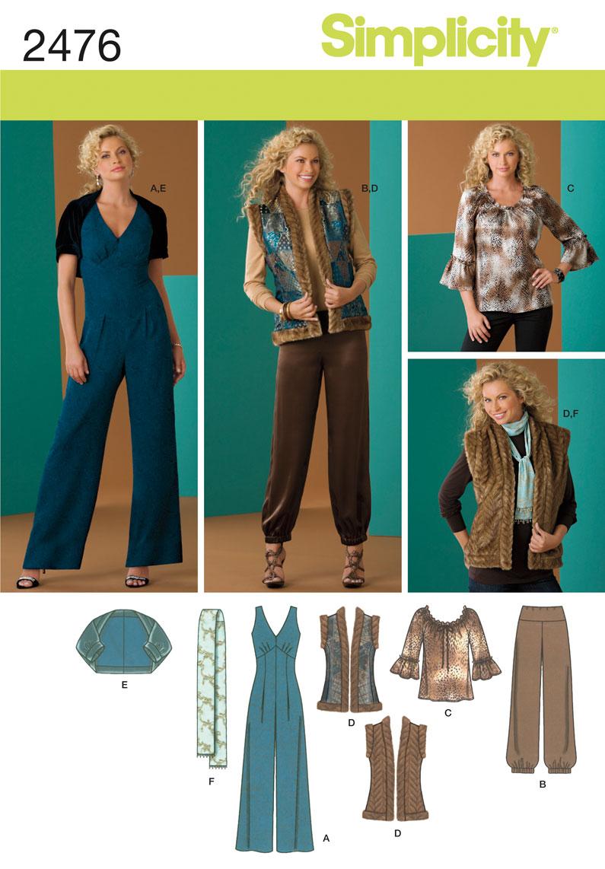 Simplicity Misses Sportswear 2476