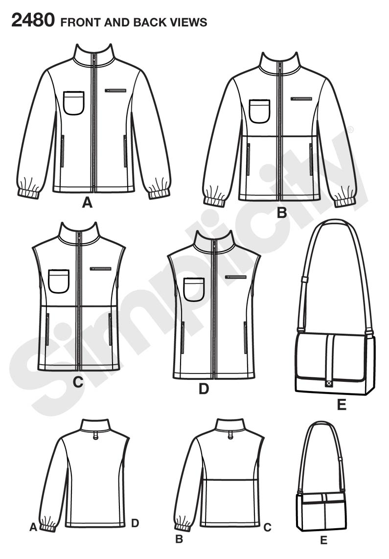 simplicity 2480 misses jacket sewing pattern