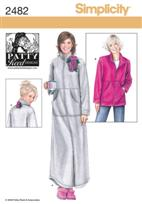 Simplicity 2482 Pattern ( Size M-L-XL-XXL )