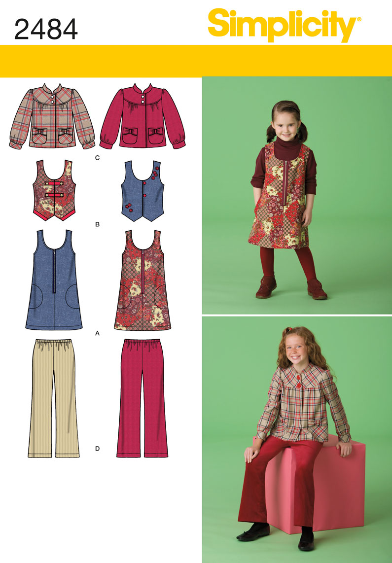 Simplicity Child/Girl Separates 2484