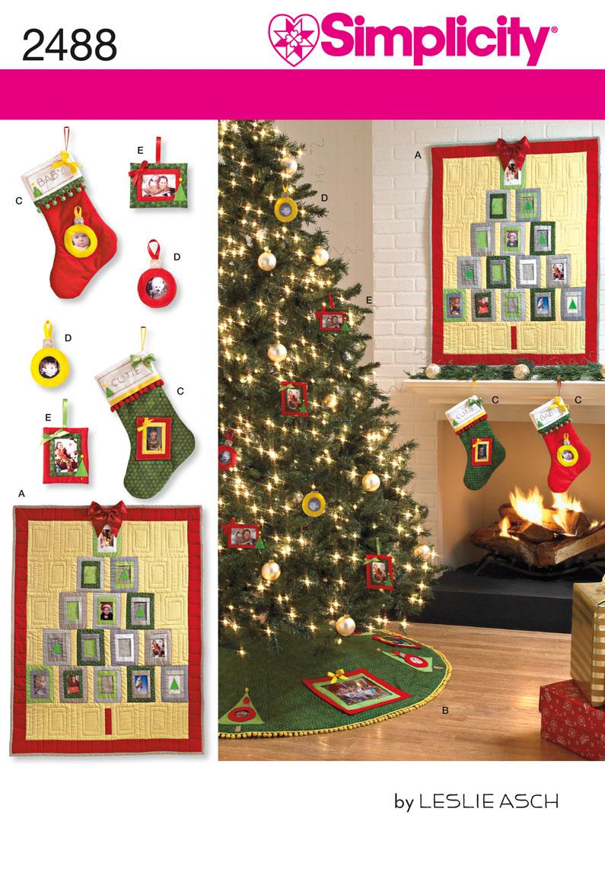 Simplicity Holiday Crafts 2488
