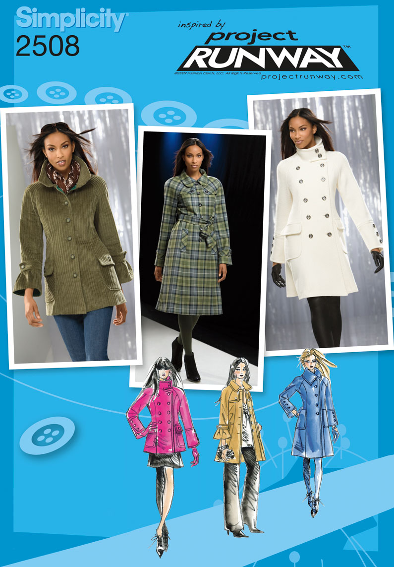 Simplicity Misses Jackets 2508