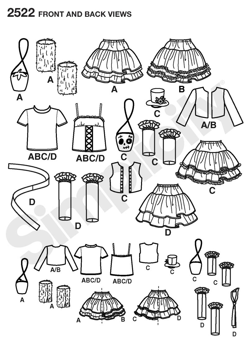 Simplicity\'s harajuku style pattern - Cosplay.com