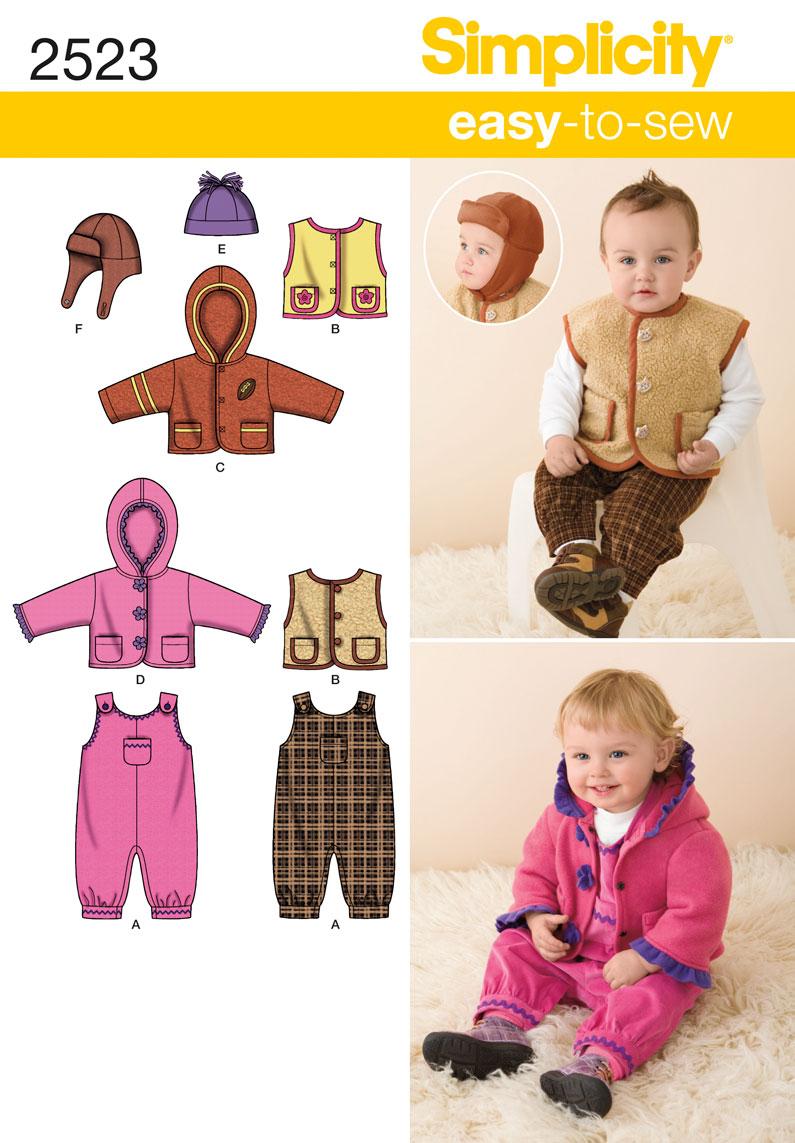 Simplicity Babies Sportswear 2523