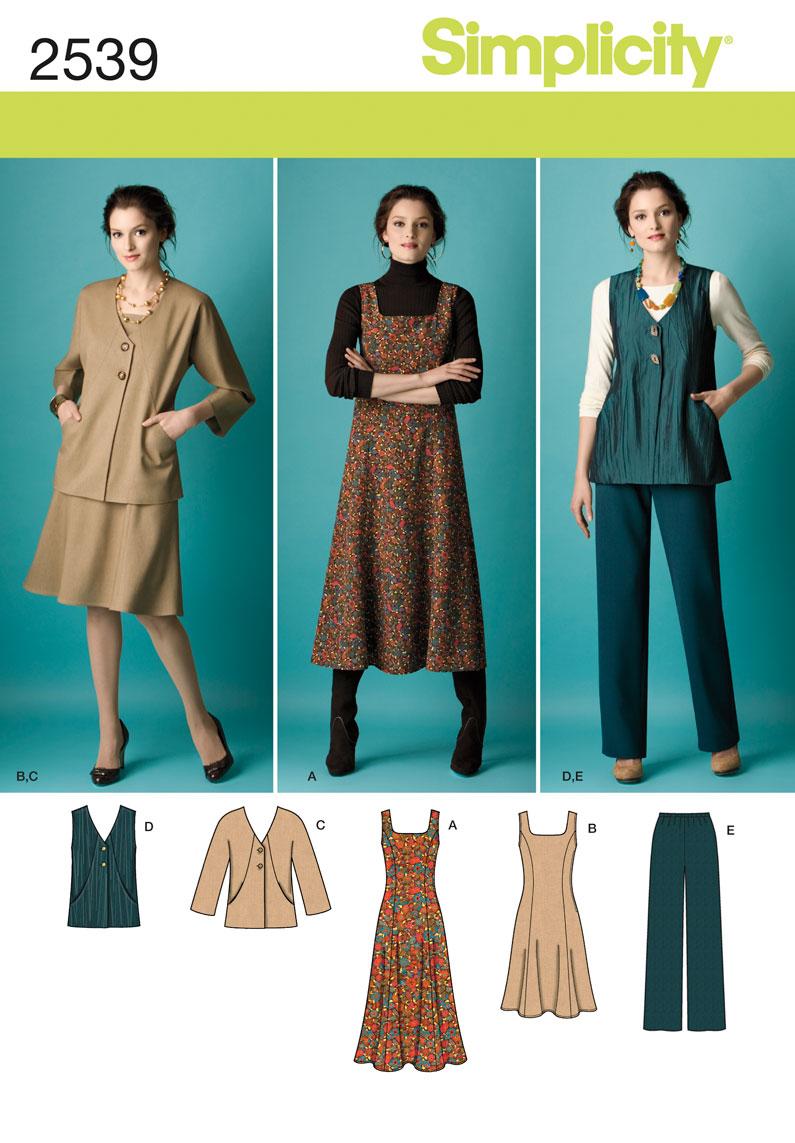 Simplicity Misses & Women's Sportwear 2539