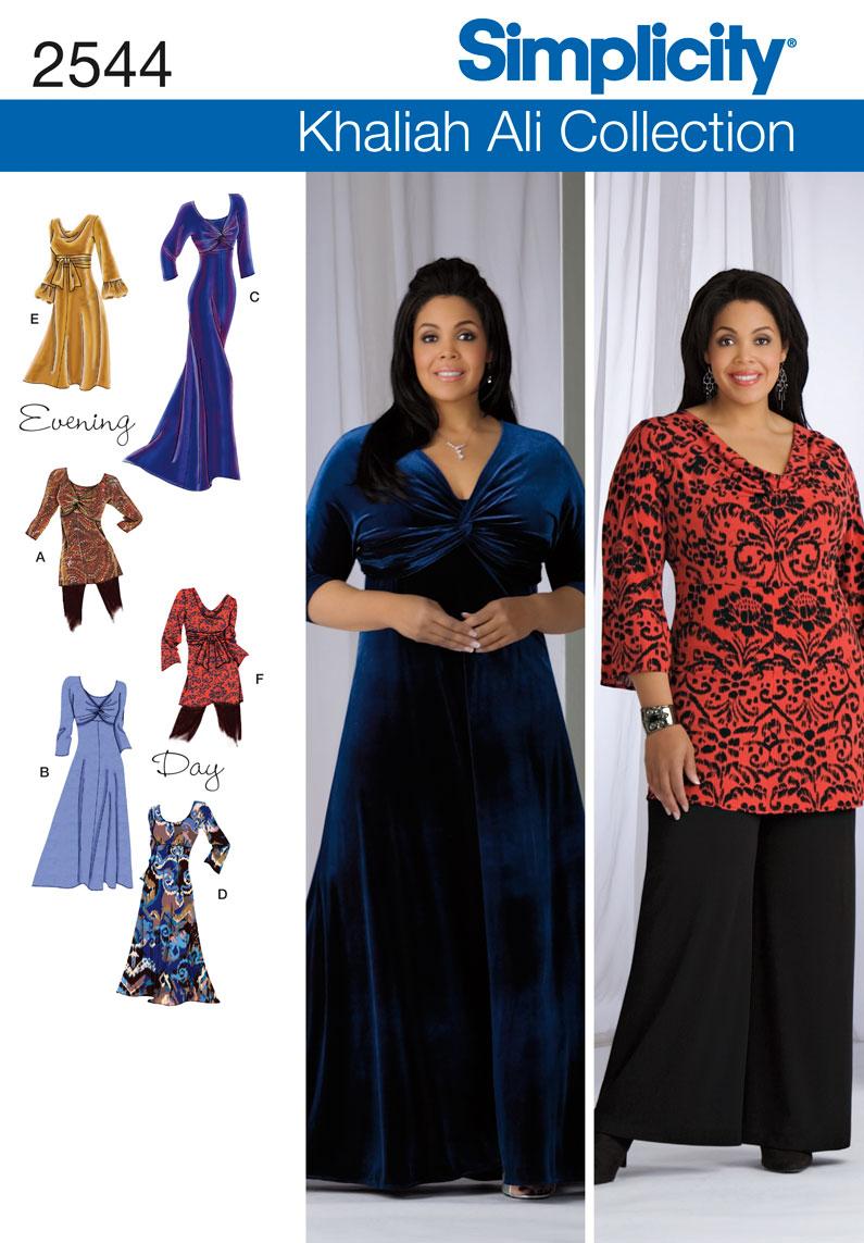Simplicity Misses & Women's Dresses 2544
