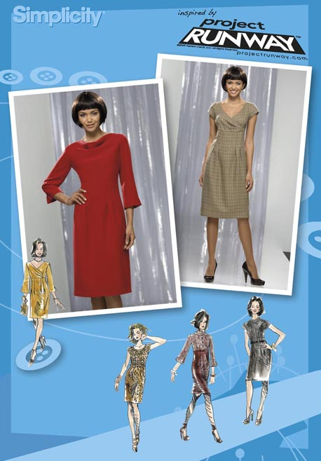 Simplicity Misses Dresses: Project Runway Collection 2550