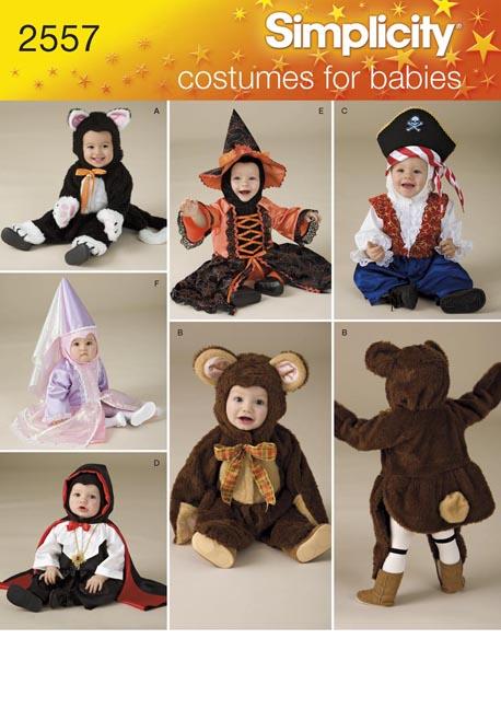 Simplicity Babies Costumes 2557