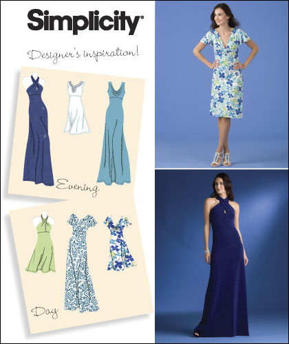 Simplicity Misses Special Occasion Dresses 2580