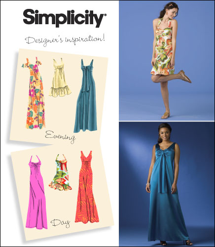 Simplicity Misses Special Occasion Dresses 2582