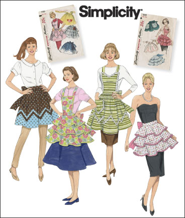 Womens 1950's Sewing Patterns at RustyZipper.Com Vintage