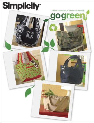 Simplicity Bags Go Green Collection 2597
