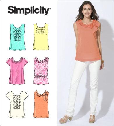 Simplicity Misses Tops 2599