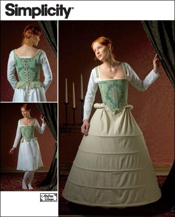 Simplicity Misses 16th Century Undergarments 2621