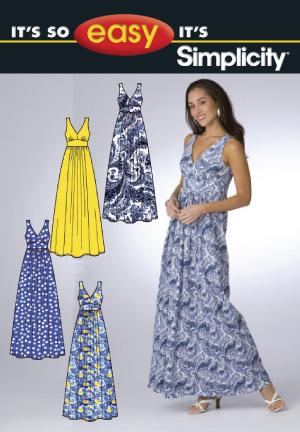 Simplicity Misses' Dress 2638