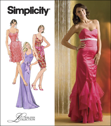 Simplicity  Misses Dress or Gown Laura Lynn Collection 2639