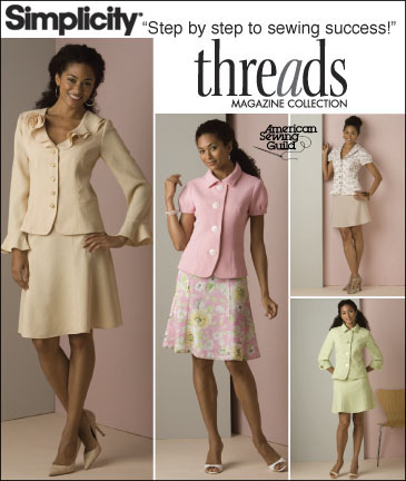 Simplicity Misses Suit Threads Collection 2645