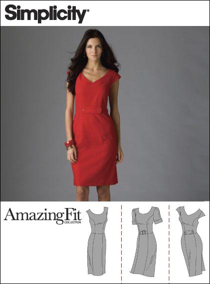 Simplicity Misses Dresses 2648