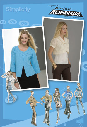 Simplicity Misses Jacket Project Runway Collection 2652