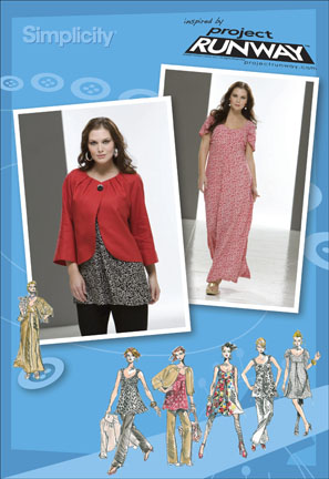 Simplicity Plus Size & Petite Plus Size Dress, Tunic, Pants & Jacket Project Runway Collection 2662