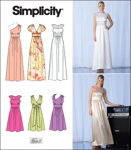 Simplicity Misses Special Occasion Dresses 2692