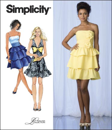 Simplicity Misses Special Occasion Dresses 2693