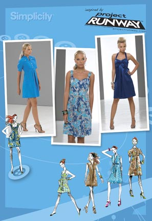 Simplicity Misses Dresses: Project Runway Collection 2694