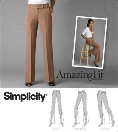 Simplicity Misses & Miss Petite Pants: Amazing Fit Collection 2700