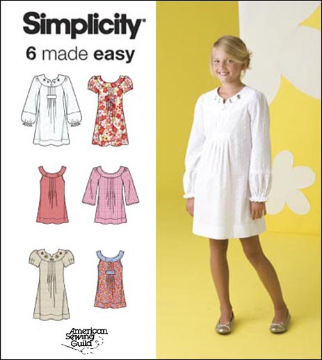 Simplicity Girls Dresses & Tunics 2715